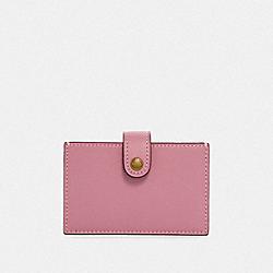 ACCORDION CARD CASE - ROSE/BRASS - COACH F35841