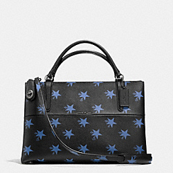 COACH BOROUGH BAG IN STAR CANYON PRINT COATED CANVAS - QB/BLUE MULTICOLOR - F35875