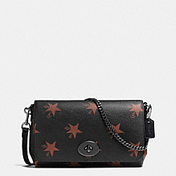 MINI RUBY CROSSBODY IN STAR CANYON PRINT COATED CANVAS - f35889 - QBBMC