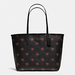 COACH CITY TOTE IN STAR CANYON PRINT COATED CANVAS - QBBMC - F35917