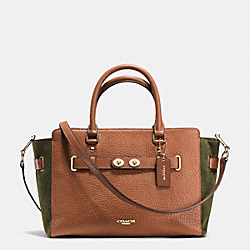 COACH BLAKE CARRYALL IN SUEDE MIX - IME90 - F35932