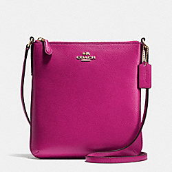COACH NORTH/SOUTH CROSSBODY IN CROSSGRAIN LEATHER - IMCBY - F36063