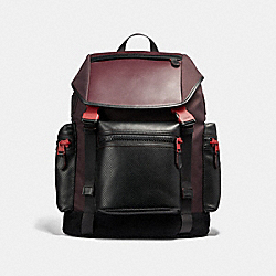 COACH TERRAIN TREK PACK - Oxblood/True Red - F36091