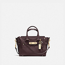 COACH SWAGGER 20 - OXBLOOD/GOLD - COACH F36235