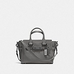 COACH SWAGGER 20 - HEATHER GREY/GUNMETAL - COACH F36235