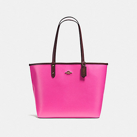 COACH REVERSIBLE CITY TOTE - IMMX3 - f36609