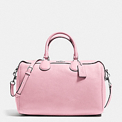 COACH BENNETT SATCHEL IN PEBBLE LEATHER - SILVER/PETAL - F36672