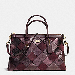COACH MORGAN SATCHEL IN PATCHWORK LEATHER - IMREM - F36698