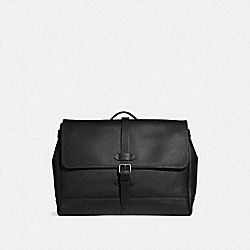 HUDSON MESSENGER - BLACK/BLACK ANTIQUE NICKEL - COACH F36810