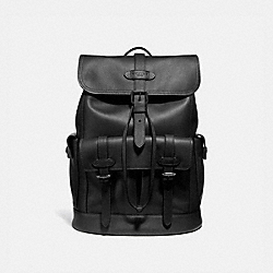COACH HUDSON BACKPACK - ANTIQUE NICKEL/BLACK - F36811