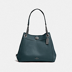 TURNLOCK EDIE SHOULDER BAG - GM/CYPRESS - COACH F36855
