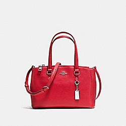 COACH STANTON CARRYALL 26 - TRUE RED/SILVER - F36881