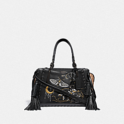 DREAMER IN SIGNATURE CANVAS WITH TATTOO - BP/TAN BLACK - COACH F37114