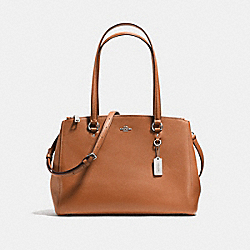 STANTON CARRYALL - SADDLE/SILVER - COACH F37148