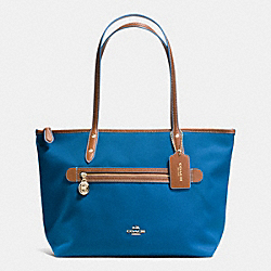 COACH SAWYER TOTE IN POLYESTER TWILL - IMITATION GOLD/BRIGHT MINERAL - F37237