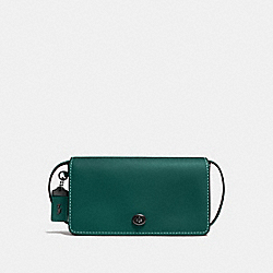 DINKY - DARK TURQUOISE/BLACK COPPER - COACH F37296