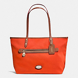 COACH TOTE IN POLYESTER TWILL - IMPEP - F37336