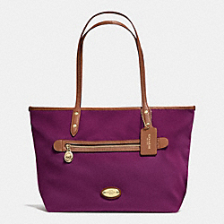 COACH TOTE IN POLYESTER TWILL - IMPLU - F37336