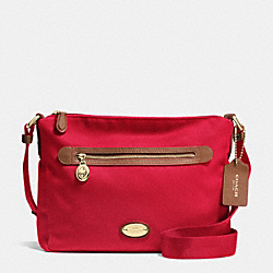 FILE BAG IN POLYESTER TWILL - IME8B - COACH F37337