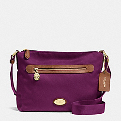 FILE BAG IN POLYESTER TWILL - IMPLU - COACH F37337