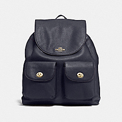 COACH F37410 - BILLIE BACKPACK IMITATION GOLD/MIDNIGHT