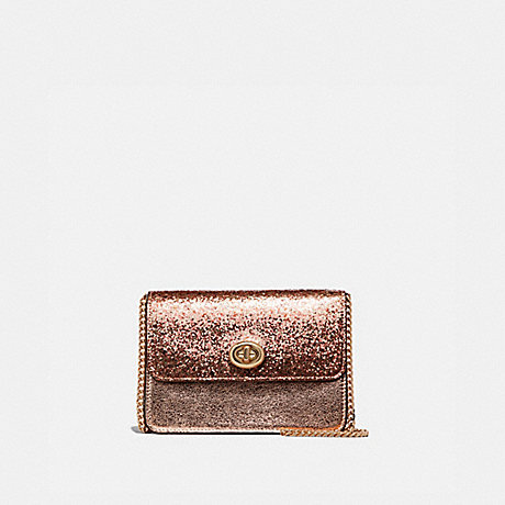 COACH BOWERY CROSSBODY - ROSE GOLD/LIGHT GOLD - F37469