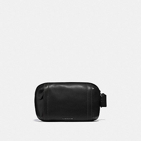 COACH GRAHAM UTILITY PACK - BLACK/BLACK ANTIQUE NICKEL - F37594