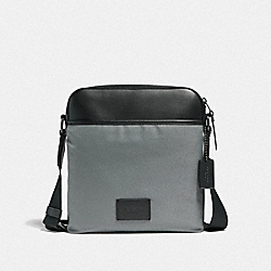 CROSSBODY - HEATHER GREY/BLACK ANTIQUE NICKEL - COACH F37609