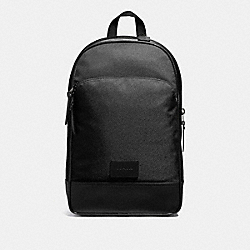 SLIM BACKPACK - BLACK/BLACK ANTIQUE NICKEL - COACH F37610