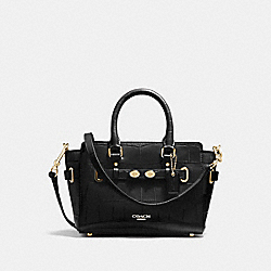 MINI BLAKE CARRYALL - GOLD/BLACK - COACH F37665