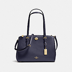 TURNLOCK CARRYALL 29 - NAVY/LIGHT GOLD - COACH F37782