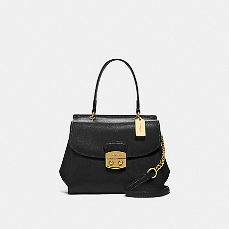 COACH AVARY CROSSBODY - BLACK/IMITATION GOLD - F37830