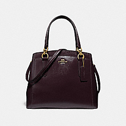MINETTA CROSSBODY - OXBLOOD 1/LIGHT GOLD - COACH F37837