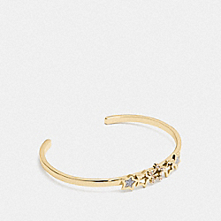 STAR CUFF - MULTI/GOLD - COACH F37960