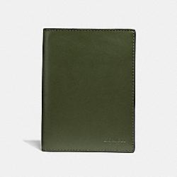 PASSPORT CASE - GLADE - COACH F38080