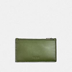 ZIP CARD CASE - GLADE - COACH F38144