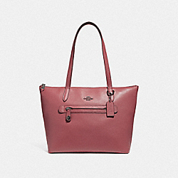 TAYLOR TOTE - DK/WASHED RED - COACH F38312