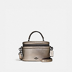 TRAIL BAG - PLATINUM/GUNMETAL - COACH F38590