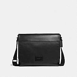MESSENGER - BLACK/BLACK ANTIQUE NICKEL - COACH F38741