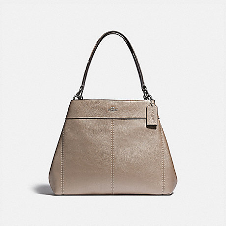 COACH LEXY SHOULDER BAG - PLATINUM/SILVER - F38879