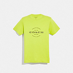NEON T-SHIRT - NEON YELLOW - COACH F38889