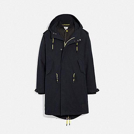 COACH 3-IN-1 LIGHTWEIGHT PARKA - BLACK - F38891