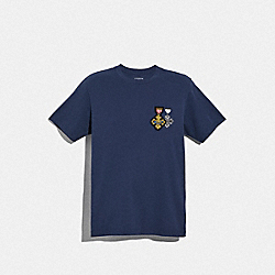 WIZARD OF OZ T-SHIRT - NAVY - COACH F38894