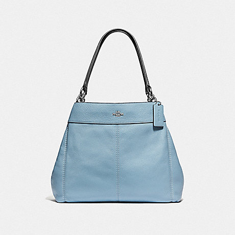 COACH LEXY SHOULDER BAG - CORNFLOWER/MIDNIGHT/SILVER - F38991
