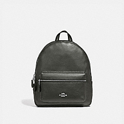 MEDIUM CHARLIE BACKPACK - SV/GUNMETAL - COACH F39196