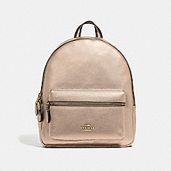 MEDIUM CHARLIE BACKPACK - PLATINUM/SILVER - COACH F39196