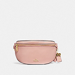 SELENA BELT BAG - PEONY/GOLD - COACH F39315