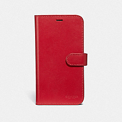 IPHONE X/XS FOLIO - JASPER - COACH F39595