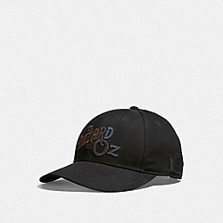 WIZARD OF OZ CAP - BLACK - COACH F39625