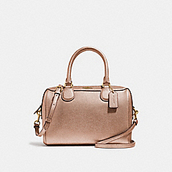 MINI BENNETT SATCHEL - ROSE GOLD/LIGHT GOLD - COACH F39706